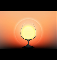 drink the sun vector image
