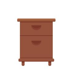 furniture cartoon vector image
