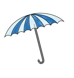 Circus umbrella fun equipment image vector
