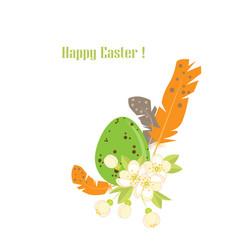 easter egg vector image