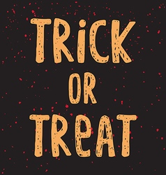 Halloween poster with text vector image