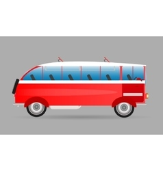 Logo old of the bus vector