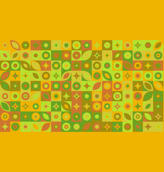 Mosaic pattern hd background - abstract graphic vector