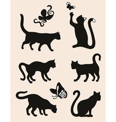 Six cat vector