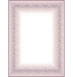 Violet frame vector