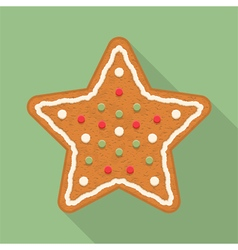 4672 - Gingerbread 3 2 11 vector image vector image