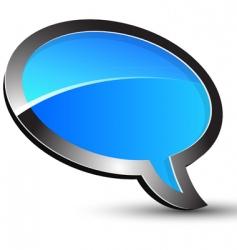 balloon conversation vector image vector image
