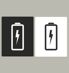 battery - icon vector image vector image