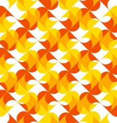 trendy hearts vector image