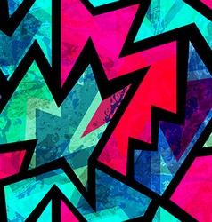 Bright vintage geometric seamless pattern vector