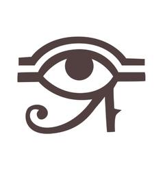 Egypt god ra symbol hand drawn set vector