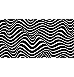 Geometric wavy background creative wavy geometric vector