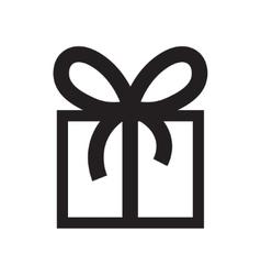 Gift Box icon vector