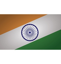 india flag vector image