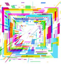 Olored square vector