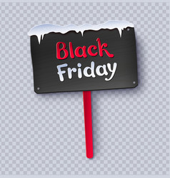 Paper cut black friday sale plate vector
