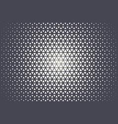 Triangular halftone texture geometric technology vector