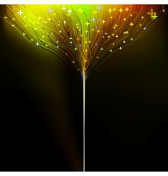 Background motion blurred neon light EPS 10 vector image vector image