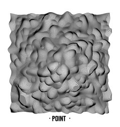abstract point noise background vector image