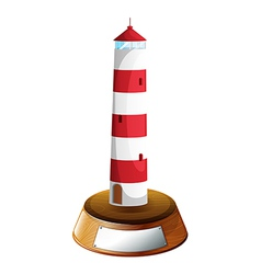 A tower-designed trophy vector