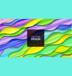 abstract background fluid geometric design vector image