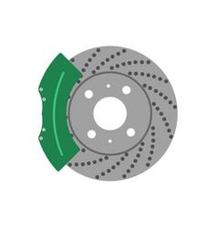 brake system vector image