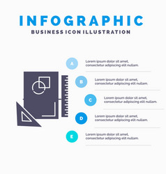 design layout page sketch sketching infographics vector image