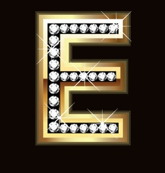 e bling vector image