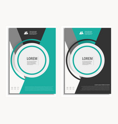 Leaflet Brochure Flyer template A4 size vector