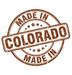 Made in colorado vector