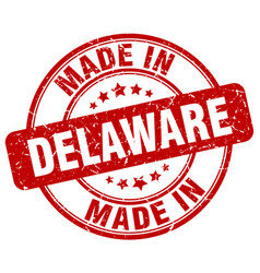 Made in delaware vector