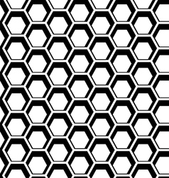 Seamless hexagon vector