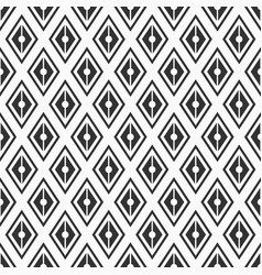 seamless pattern geometric background of rhombuses vector image