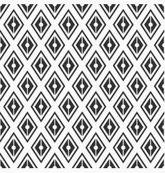 Seamless pattern geometric background of rhombuses vector