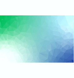 abstract polygon background light blue blurry vector image