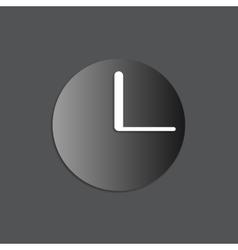black watch icon vector image