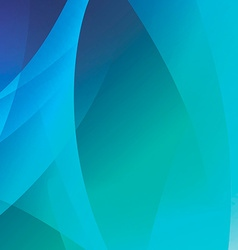 Blue abstract ocean background vector