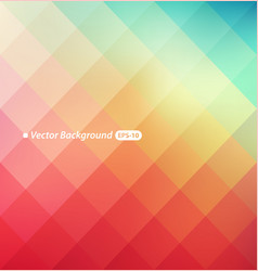 Blurry triangle background vector