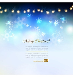 Christmas abstract vector image