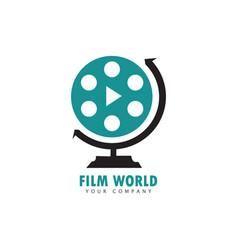 film world vector image