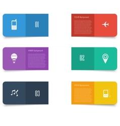 Flat design concept Design vector image