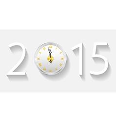 New Year 2015 vector