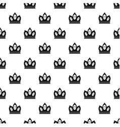 Queen crown pattern vector