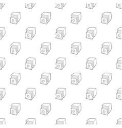 retro camera icon outline style vector image