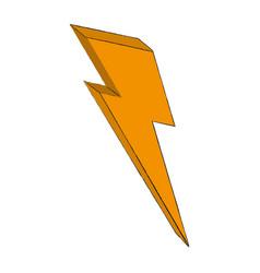 ray energy symbol vector image