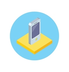 Smart Phone Design Flat Icon Isolated vector image