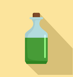 Aloe liquid icon flat style vector