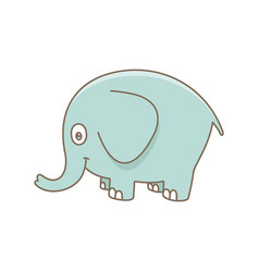 baelephant vector image