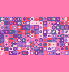 Colorful abstract random curved shape pattern hd vector