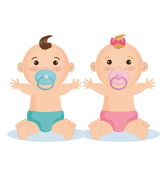 cute baby design vector image